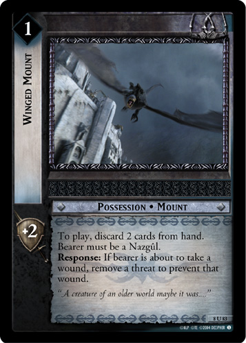 Winged Mount (8U83) Card Image