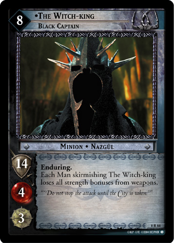 The Witch-king, Black Captain (8R84) Card Image