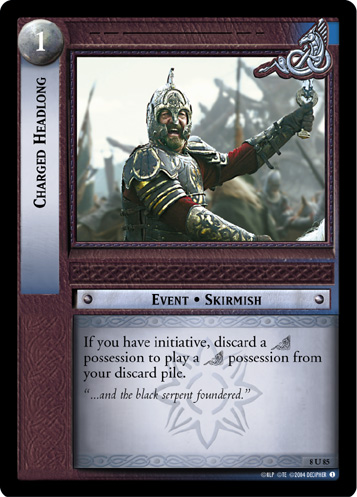 Charged Headlong (8U85) Card Image