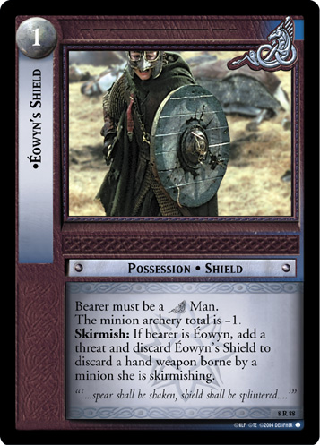 Eowyn's Shield (8R88) Card Image