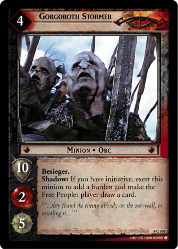 Gorgoroth Stormer (8C101) Card Image