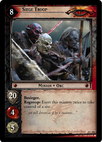 Siege Troop (8C106) Card Image