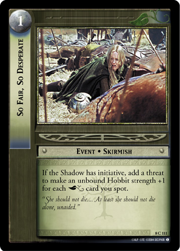 So Fair, So Desperate (8C111) Card Image