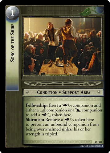 Song of the Shire (8U112) Card Image