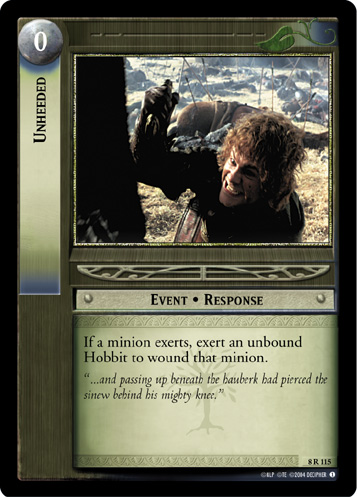 Unheeded (8R115) Card Image