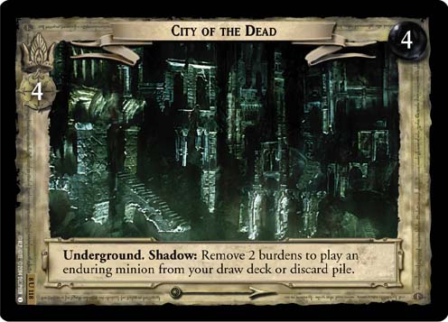 City of the Dead (8U118) Card Image