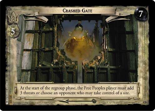 Crashed Gate (8U119) Card Image