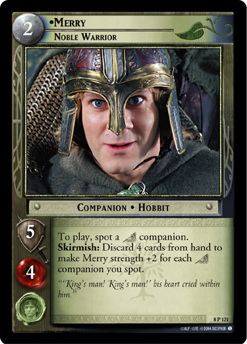 Merry, Noble Warrior (8P121) Card Image