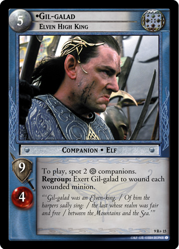 Gil-galad, Elven High King (9R+15) Card Image