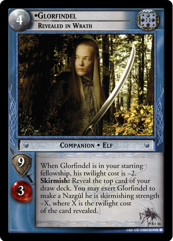 Glorfindel, Revealed in Wrath (9R+16) Card Image