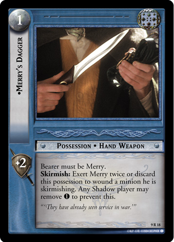 Merry's Dagger (9R18) Card Image