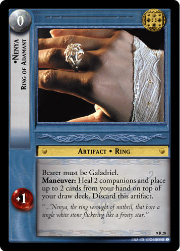 Nenya, Ring of Adamant (9R20) Card Image
