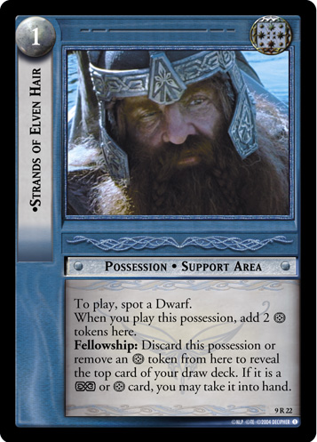 Strands of Elven Hair (9R22) Card Image