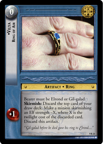 Vilya, Ring of Air (9R23) Card Image