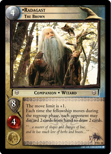 Radagast, The Brown (9R+26) Card Image