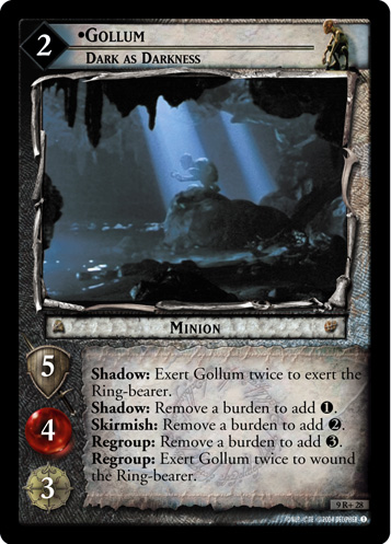 Gollum, Dark as Darkness (9R+28) Card Image