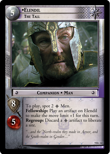 Elendil, The Tall (9R+32) Card Image
