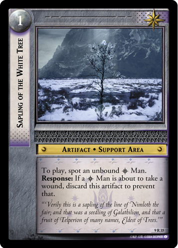 Sapling of the White Tree (9R35) Card Image