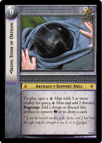 Seeing Stone of Orthanc (9R38) Card Image