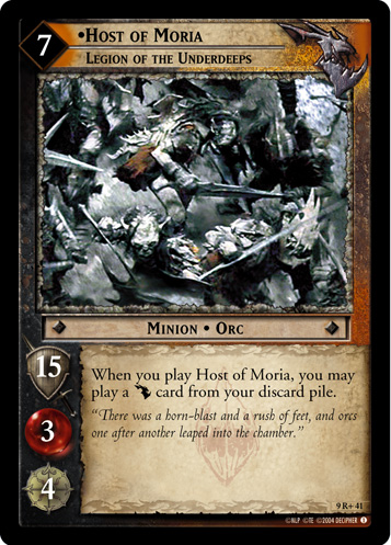 Host of Moria, Legion of the Underdeeps (9R+41) Card Image