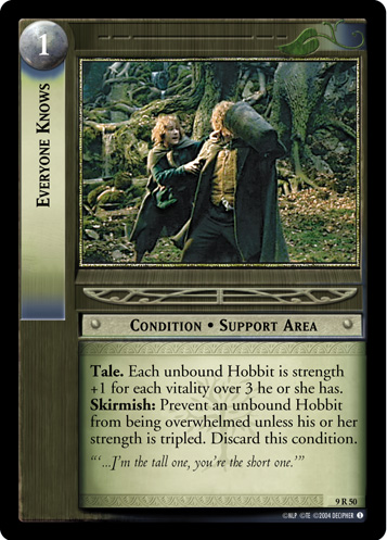 Everyone Knows (9R50) Card Image