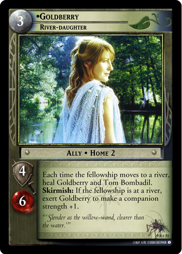 Goldberry, River-daughter (9R+51) Card Image