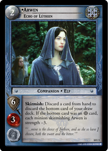 Arwen, Echo of Luthien (10U5) Card Image