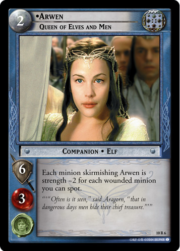 Arwen, Queen of Elves and Men (10R6) Card Image
