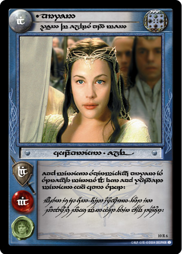 Arwen, Queen of Elves and Men (T) (10R6T) Card Image