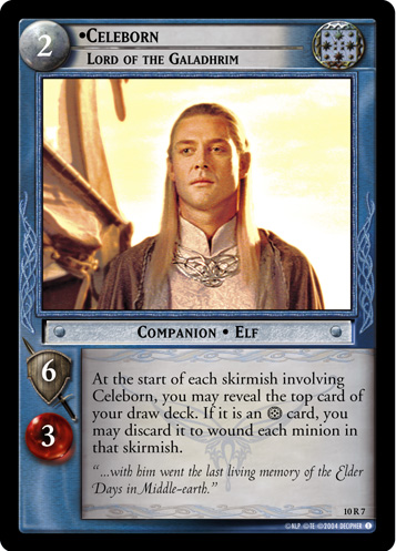 Celeborn, Lord of the Galadhrim (10R7) Card Image