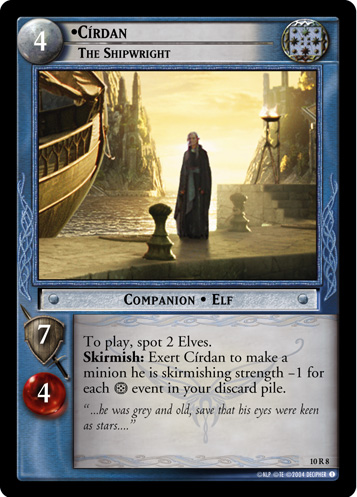 Cirdan, The Shipwright (10R8) Card Image