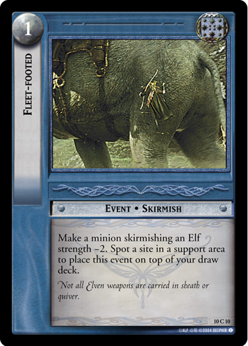 Fleet-footed (10C10) Card Image