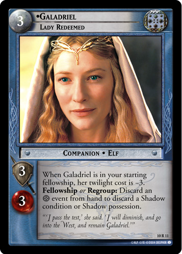 Galadriel, Lady Redeemed (10R11) Card Image
