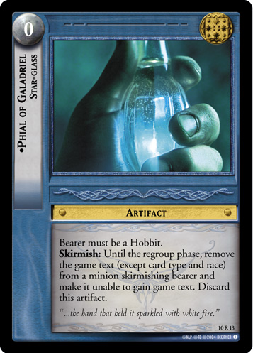 Phial of Galadriel, Star-glass (10R13) Card Image