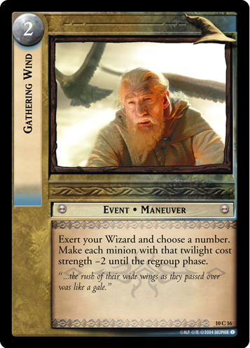 Gathering Wind (10C16) Card Image