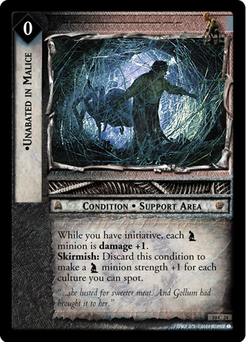 Unabated in Malice (10C24) Card Image