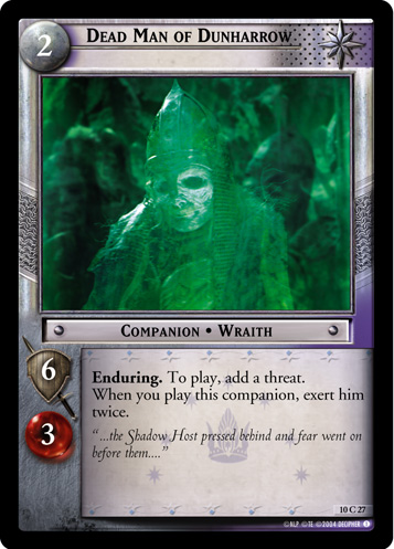 Dead Man of Dunharrow (10C27) Card Image