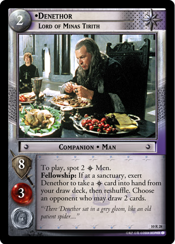 Denethor, Lord of Minas Tirith (10R28) Card Image