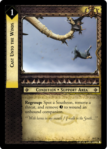 Cast Unto the Winds (10C36) Card Image