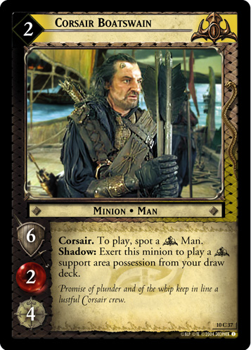 Corsair Boatswain (10C37) Card Image