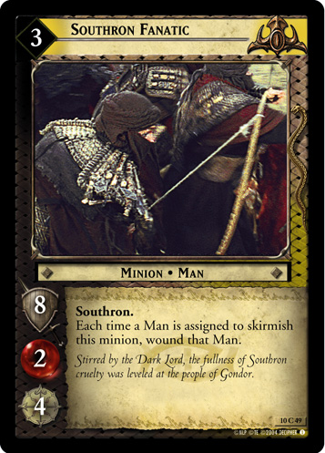 Southron Fanatic (10C49) Card Image