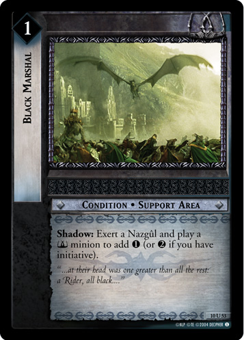 Black Marshal (10U53) Card Image
