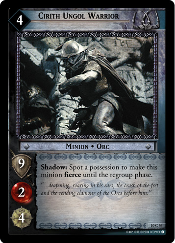 Cirith Ungol Warrior (10C56) Card Image