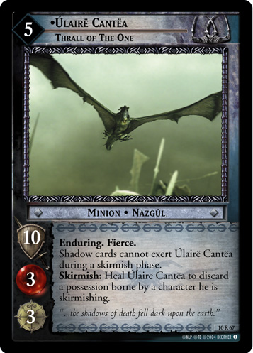 Ulaire Cantea, Thrall of the One (10R67) Card Image