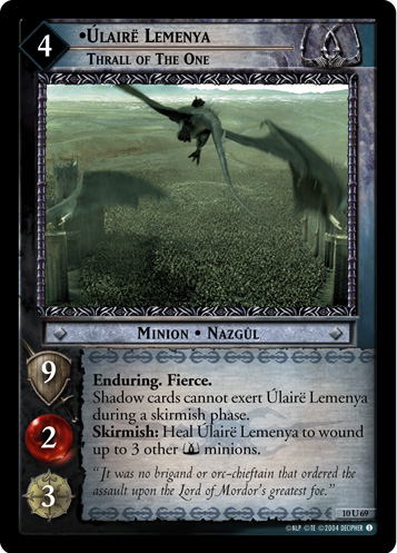 Ulaire Lemenya, Thrall of the One (10U69) Card Image