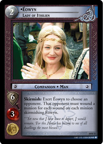 Eowyn, Lady of Ithilien (10R72) Card Image