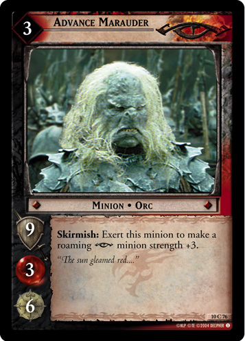 Advance Marauder (10C76) Card Image
