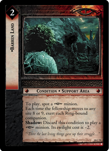 Barren Land (10C79) Card Image