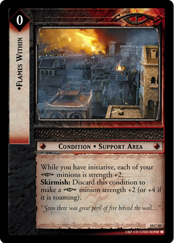 Flames Within (10C85) Card Image