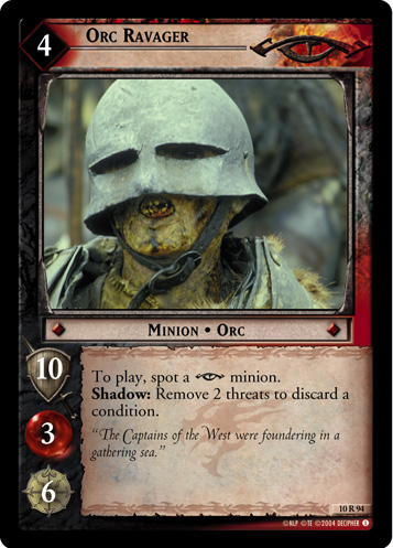 Orc Ravager (10R94) Card Image